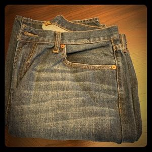 Lucky Jeans 181 relaxed straight slightly worn